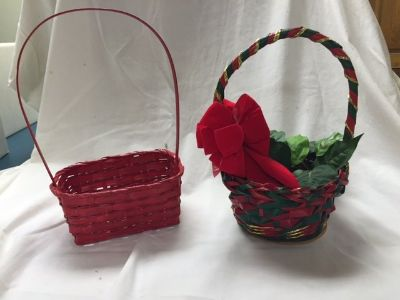 HOLIDAY BASKETS - 2 Available