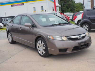 2010 Honda Civic LX (Urban Titanium Metallic)