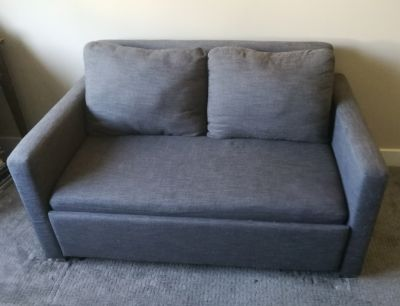 Grey Sofa bed couch