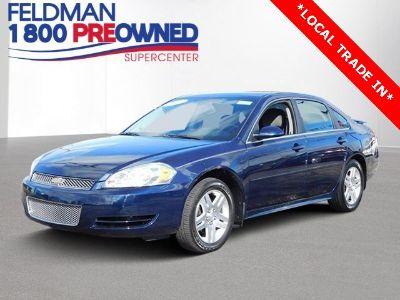 2012 Chevrolet Impala LT (Imperial Blue Metallic)