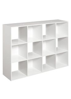 ClosetMaid Cubeicals 12-Cube Organizer, White