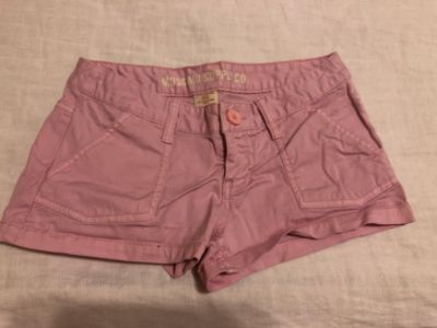 Mossimo Supply Co Stretchy. Size 1. Cotton/Spandex. Photo of Back Attached