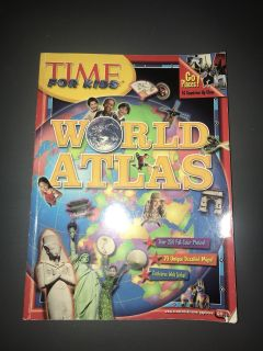 GUC TIME FOR KIDS WORLD ATLAS