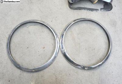 Lowlight ghia headlight rings