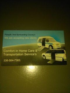 Senior Transportation & Errands