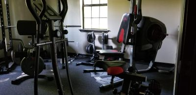 Complete home gym equipment!