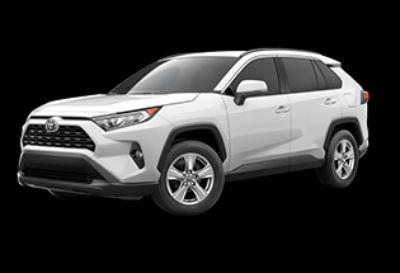 2019 Toyota RAV4 XLE (Super White)