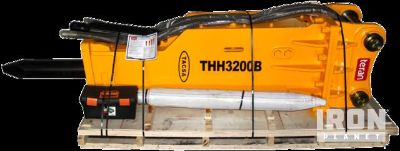 "Tacsa THH3200 Hydraulic Breaker - Fits Cat 336D W/ ""DB"" Linkage - Unused"