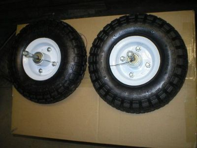 Purchase Arctic cat Z120 mini snowmobile front wheel kit. motorcycle in Amherst, Ohio, United States, for US $95.00