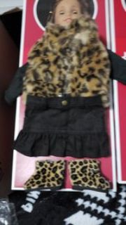 18 inch doll cheetah outfit