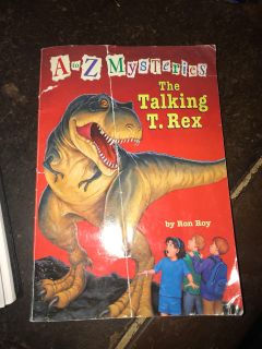 A to Z mysteries the talking T. rex book