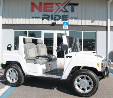 2007 HUMMER Golf Cart (White)