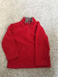CP size XS/4 red fleece pullover. $3