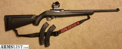 For Sale: Ruger 10/22 (Synthetic)