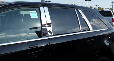 Find 2007-2012 Ford Edge 8 Piece Stainless Steel Chrome Door Pillar Post Moldings motorcycle in Spanaway, Washington, US, for US $64.99
