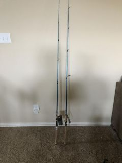 TWO BRAND NEW FISHING RODS