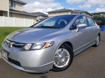 2007 Honda Civic Hybrid Hybrid (silver)