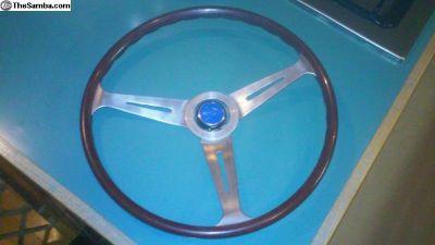 Bus flat empi steering wheel project. Datsun