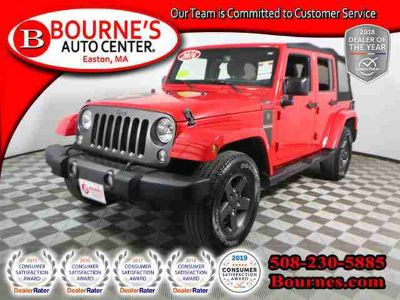 Used 2016 Jeep Wrangler Unlimited 4WD 4dr