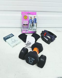 All New Personal Workout Items Lot!