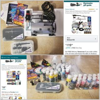 Master Airbrush System and Paint