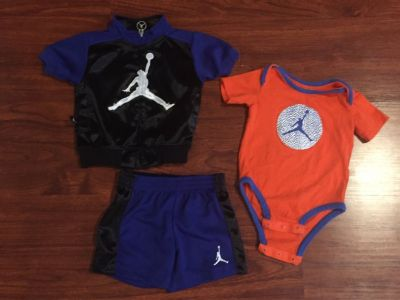 Jordan Outfit - Size 3-6 month - good condition!!!