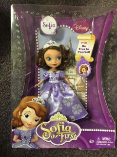 Brand new Sofia the first 5 inch doll