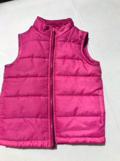 Toddler girl vest