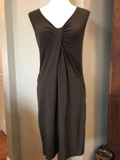 And Taylor loft brown dress, size extra small