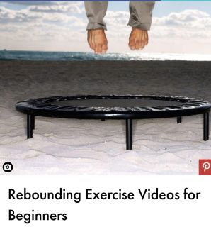 Rebounding work out videos