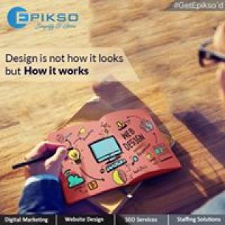 Clean Website design and Innovative Web Development Solution provided by Epikso Inc.