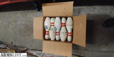 For Sale: Bowling pins