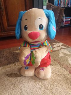 Laugh & Learn dance and play puppy Soo cute - works great!