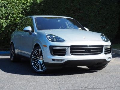 2016 Cayenne Turbo in Rhodium Silver - Loaded with Options