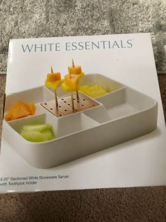 New in Box: Appetizer Tray