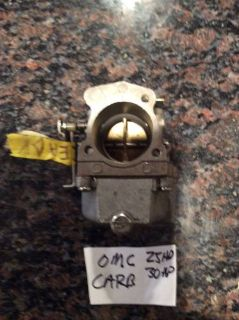 Sell Johnson evinrude outboard 30hp OMC carb carburetor 2cly 25hp 35hp motorcycle in Lake Mary, Florida, United States, for US $165.00