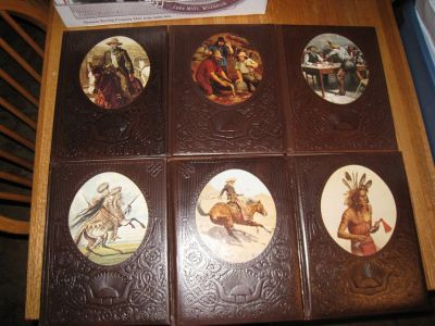 6 Vintage Time Life The Old West Hard Cover Books