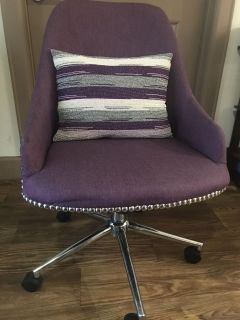 Perfectly Purple Office Chair