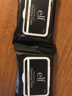 E.L.f makeup removing wipes