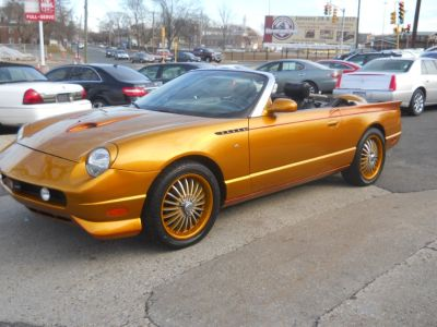 2003 Ford Thunderbird Deluxe (GOLD METAL FLAKE)