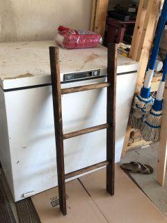 Handmade blanket ladders