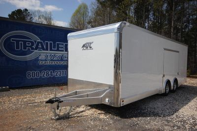 2019 ATC Quest CH305 24ft Aluminum Enclosed Car Trailer