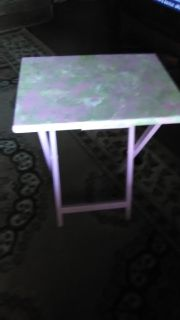Tv table pink for girls room