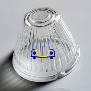 Ghia Turn Signal Lens, Clear, Plastic, 59-64