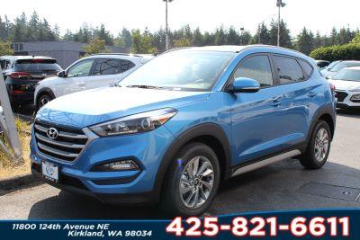 2018 Hyundai Tucson SEL Plus (Caribbean Blue)
