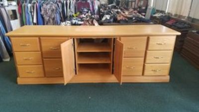 TV Stand Cabinet 100 inch more or less TV