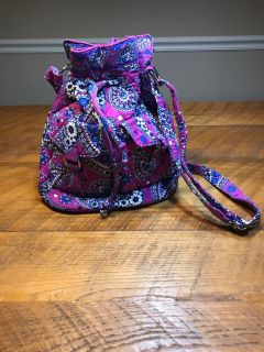 Vera Bradley drawstring bag. Like new.