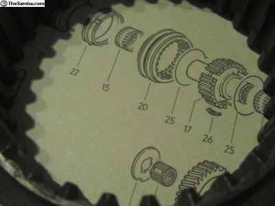 TransmissionOperatingSleeve73-74:NOS