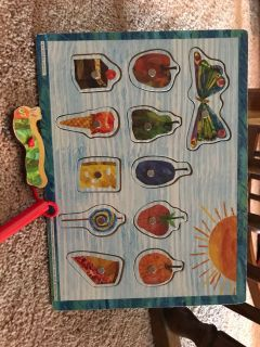 Very hungry caterpillar puzzle