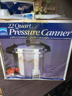 Mirro 22 Quart Pressure Canner